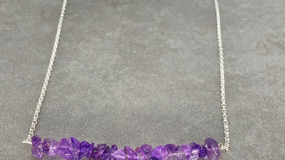 Gemstone Chip Necklace
