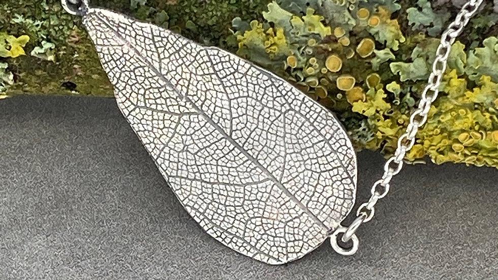 Leaf Print Pendant