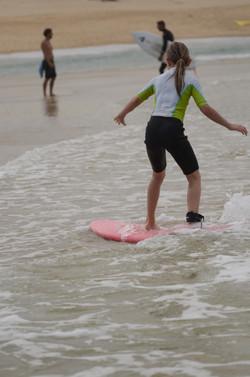 ecole de surf des bourdaines 1999