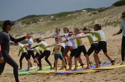ecole de surf des bourdaines 1956