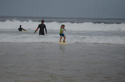 ecole de surf des bourdaines 1985