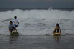 ecole de surf des bourdaines 1974