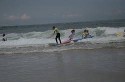 ecole de surf des bourdaines 1977