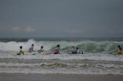 ecole de surf des bourdaines 1978
