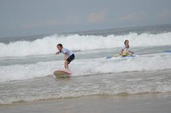 ecole de surf des bourdaines 1994