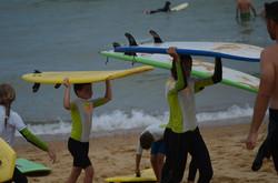ecole de surf des bourdaines 19170