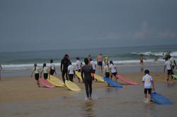 ecole de surf des bourdaines 1963