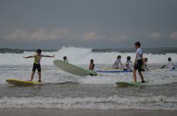 ecole de surf des bourdaines 1984