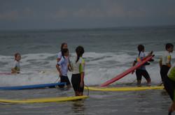 ecole de surf des bourdaines 1989