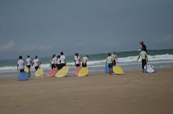 ecole de surf des bourdaines 1966