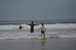 ecole de surf des bourdaines 1986
