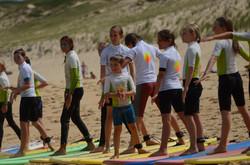 ecole de surf des bourdaines 1957