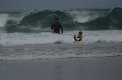 ecole de surf des bourdaines 1971