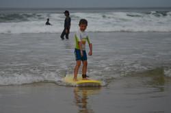 ecole de surf des bourdaines 1987