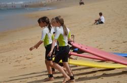 ecole de surf des bourdaines 1959