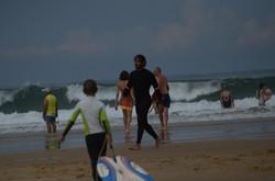 ecole de surf des bourdaines 1964