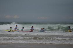 ecole de surf des bourdaines 1980