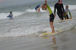 ecole de surf des bourdaines 1993