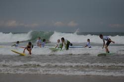 ecole de surf des bourdaines 1981