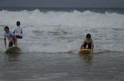 ecole de surf des bourdaines 1975