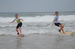 ecole de surf des bourdaines 1996