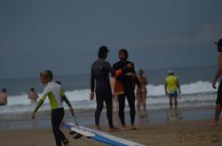 ecole de surf des bourdaines 1965