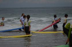 ecole de surf des bourdaines 1990