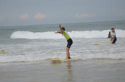 ecole de surf des bourdaines 1992
