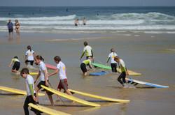 ecole de surf des bourdaines 1961
