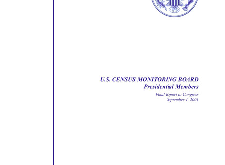 2000 US Census Monitoring Board