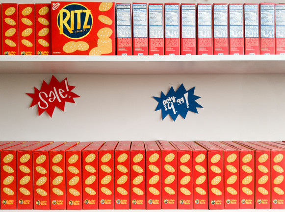 Ritz It Up Installation (Shelves)