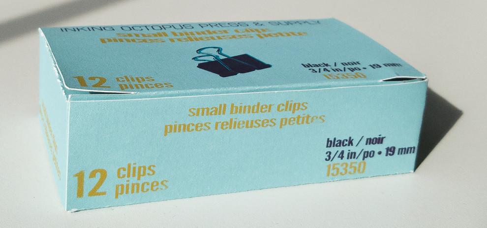 Binder Clip Box (View I)
