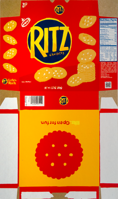 Completed Flat Ritz Box