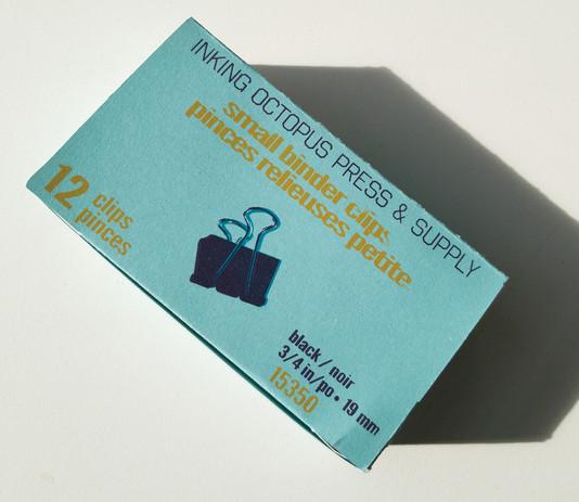 Binder Clip Box (View IV)