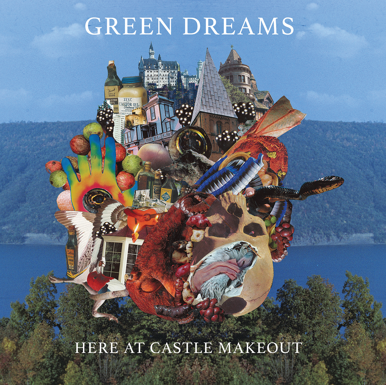 Green Dreams album art, 2016