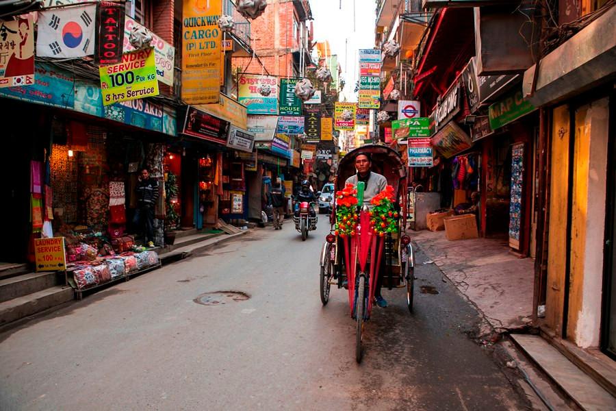 Thamel Kota Khatmandu Nepal