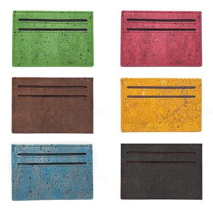ארנק טבעוני קטן עשוי שעם - סלים ג'ים - במבחר צבעים