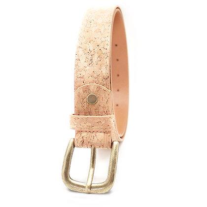 חגורה טבעונית מבד שעם - ג'וי