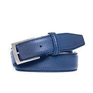 חגורה כחולה טבעונית