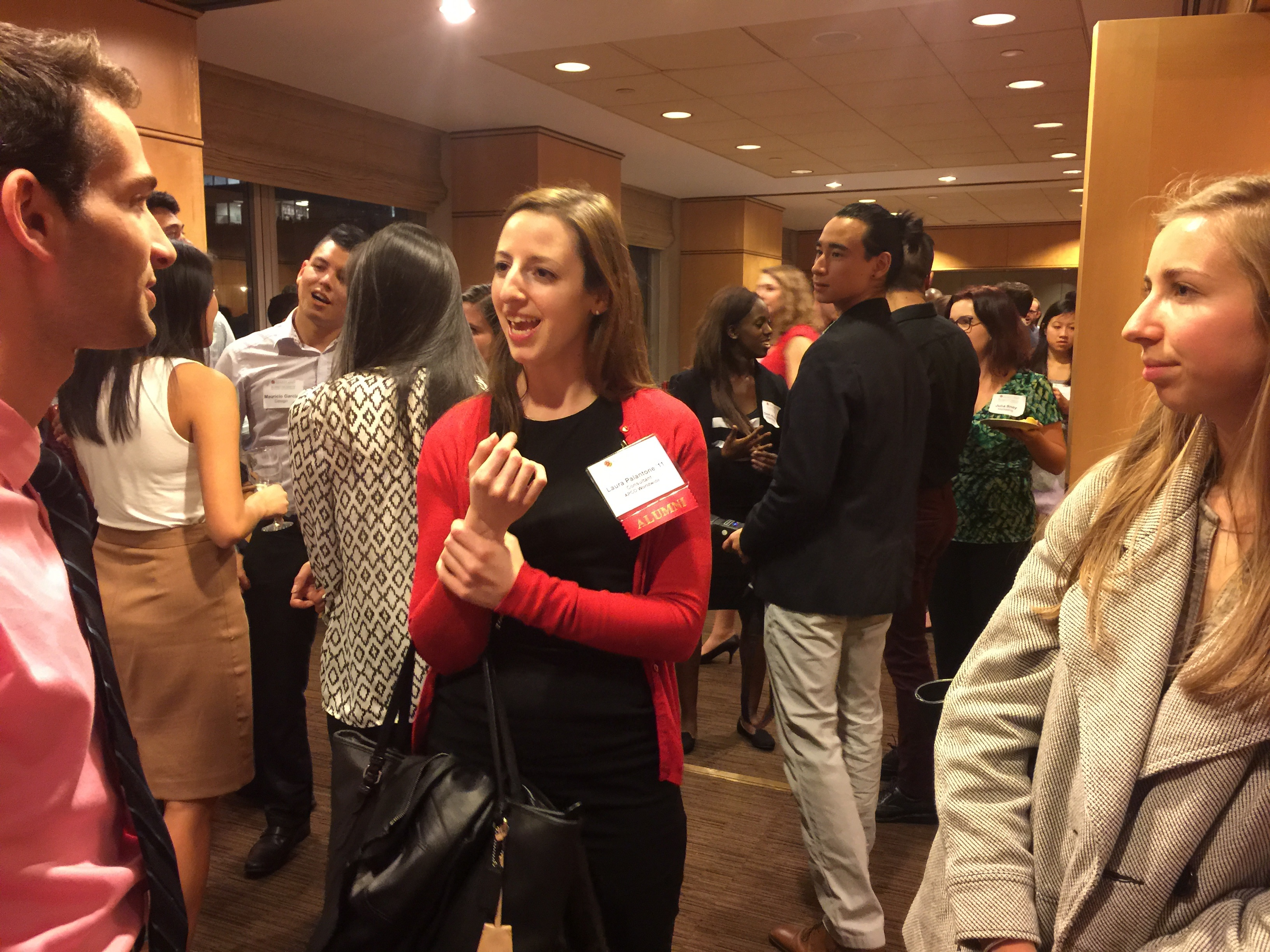 SUSA Alumni networking event in NYC