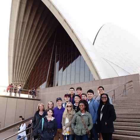 Smith Interns, Sydney Opera House