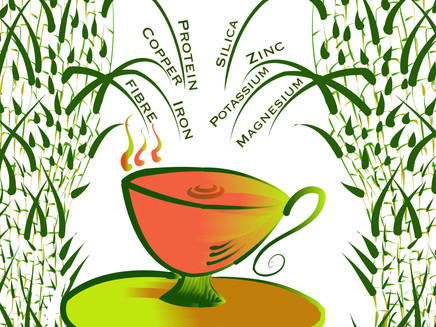 What's in the Bamboo Leaf Tea?