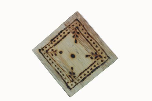Handmade Bamboo Coasters  - 2 pieces