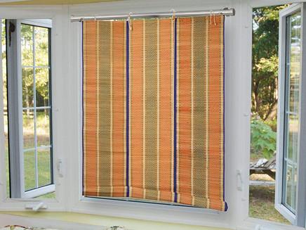 Beat the heat with golden grass roller blinds...!!!
