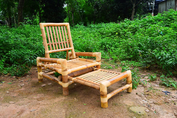 Bamboo foldable lounge chair