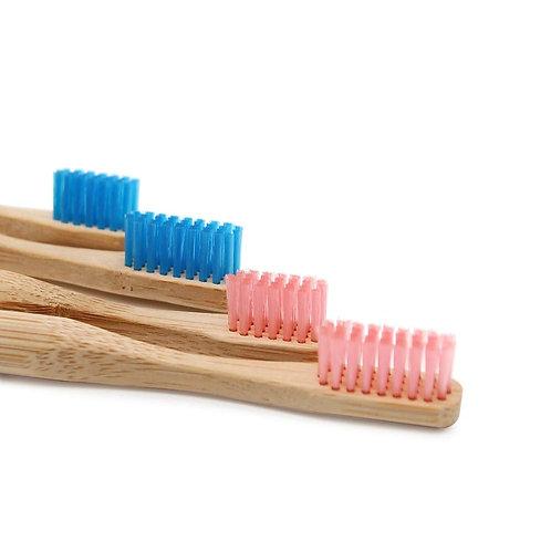 Handmade Bamboo Toothbrush- Pair of 2