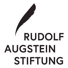 Rudolf Augstein Stiftung Druck Logo Schw