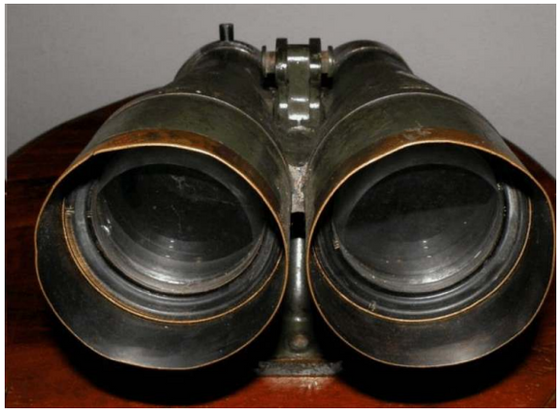 Japanese World War II Big Eye Binoculars - ...more history