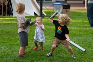 Kids loving the event!