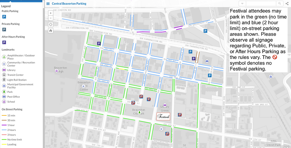 map of on street parking near BCLibrary.png